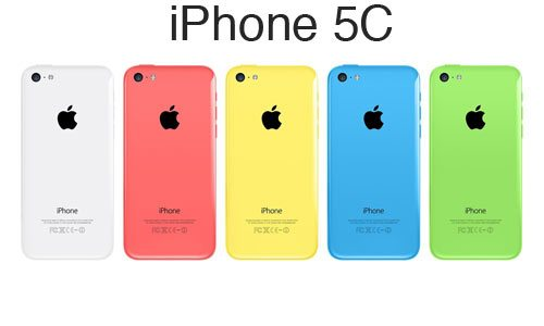 Colorazioni apple iphone 5c ricondizionati
