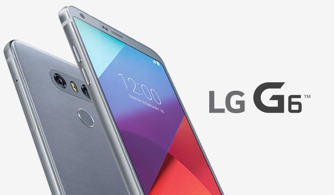LG G6 smartphone usato