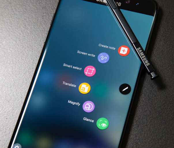 Smartphone samsung galaxy Note 8 usato