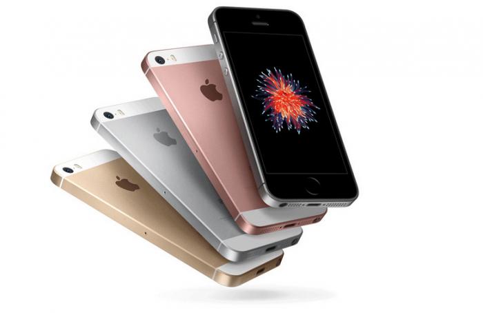 Smartphone usato Apple iphone SE di vari colori